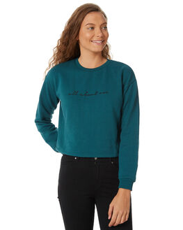 TEAL WOMENS CLOTHING ALL ABOUT EVE JUMPERS - 6413047TEAL