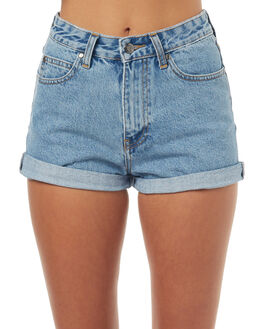 LIGHT RETRO WOMENS CLOTHING DR DENIM SHORTS - 1610103LGHTR