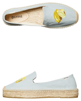 CHAMBRAY WOMENS FOOTWEAR SOLUDOS FLATS - 1000220420