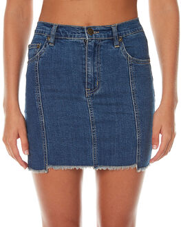 INDY BLUE WOMENS CLOTHING ZIGGY SKIRTS - ZW-1235IND
