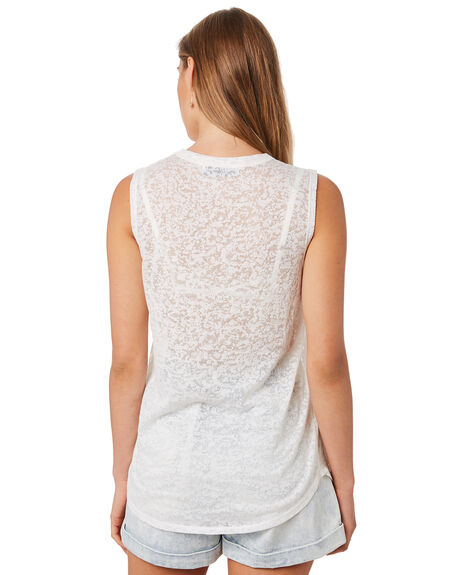 NATURAL OUTLET WOMENS SWELL SINGLETS - S8202006NAT