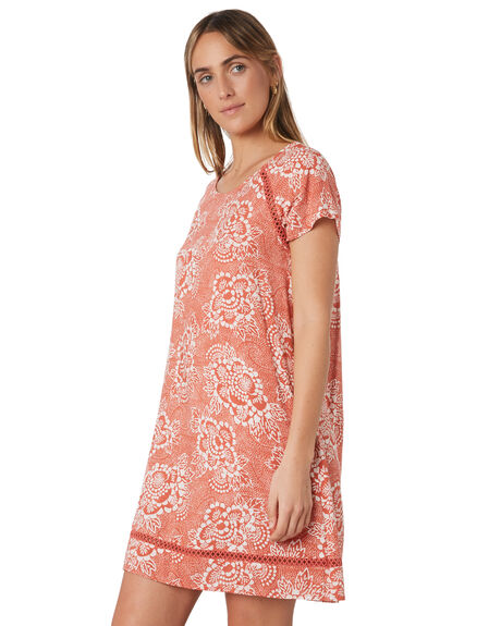 RUST WOMENS CLOTHING RIP CURL DRESSES - GDRHP10530