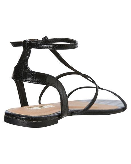 BLACK CROC WOMENS FOOTWEAR BILLINI FASHION SANDALS - S630BKCRC