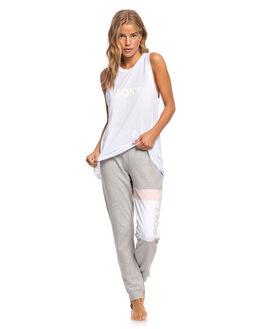 BRIGHT WHITE WOMENS CLOTHING ROXY TEES - ERJZT04792-WBB0