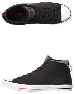 BLACK MASON CASINO MENS FOOTWEAR CONVERSE SNEAKERS - 155479BLK