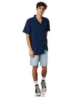 ROADRUNNER BLUE MENS CLOTHING DR DENIM SHORTS - 1710111-G01