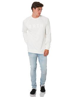 STOUT WHITE MENS CLOTHING BURTON JUMPERS - 137171100