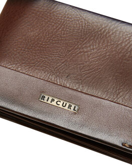BROWN MENS ACCESSORIES RIP CURL WALLETS - BWULF10009