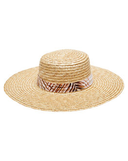 STRAW WOMENS ACCESSORIES RHYTHM HEADWEAR - JAN20W-HW01-STR