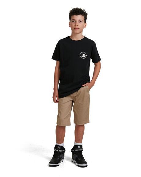KHAKI KIDS BOYS DC SHOES SHORTS - ADBWS03008-TKY0