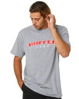 GREY MARLE MENS CLOTHING HUFFER TEES - MTE01S4030GRYML