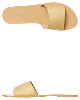 YELLOW LINEN WOMENS FOOTWEAR BILLINI FASHION SANDALS - S452YEL