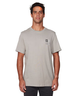 OVERCAST MENS CLOTHING RVCA TEES - RV-R107045-OVC