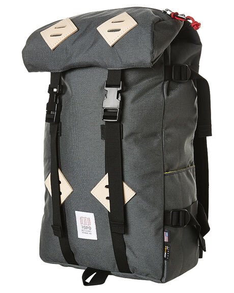 Topo Designs Klettersack 22L Backpack - Charcoal  97e72985745be