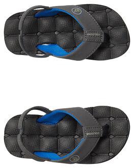 BLUE COMBO KIDS BOYS VOLCOM FOOTWEAR - U0811520BCB
