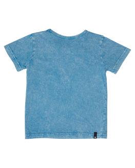 ACID BLUE KIDS TODDLER BOYS MUNSTER KIDS TEES - MK181TE08ABLU
