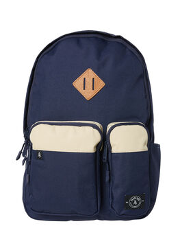 BLUE STONE MENS ACCESSORIES PARKLAND BAGS + BACKPACKS - 20006-00237-OSBLUST