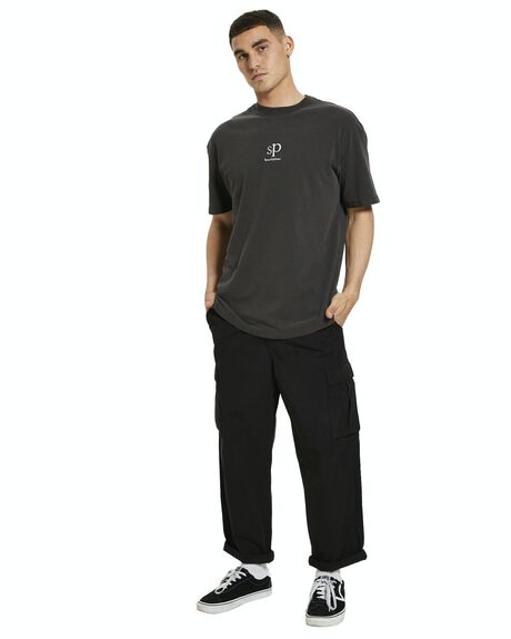 BLACK MENS CLOTHING SPENCER PROJECT PANTS - 22958100037