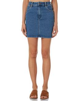 ISLA BLUE WOMENS CLOTHING WRANGLER SKIRTS - W-097556-P94