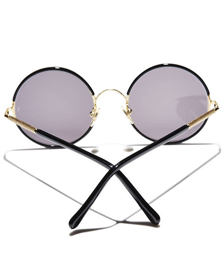 BLACK MENS ACCESSORIES SUNDAY SOMEWHERE SUNGLASSES - SUN037-BLK-SUN