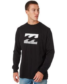 BLACK MENS CLOTHING BILLABONG TEES - 9586181MBLK