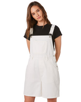 WARM WHITE WOMENS CLOTHING ZULU AND ZEPHYR PLAYSUITS + OVERALLS - ZZ2888WWHITE