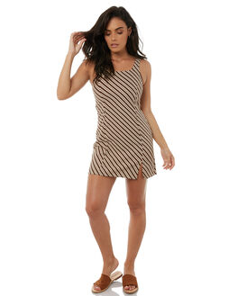 CANYON STRIPE WOMENS CLOTHING ZULU AND ZEPHYR DRESSES - ZZ1813CAN