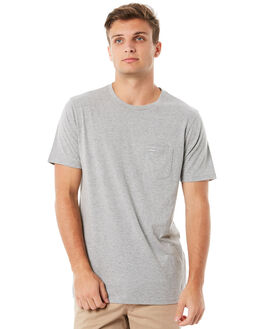 GREY MARLE MENS CLOTHING RIP CURL TEES - CTELL20085