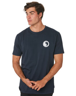 VULCAN NAVY MENS CLOTHING TOWN AND COUNTRY TEES - TTE111VLCNV