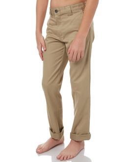 KHAKI KIDS BOYS DICKIES PANTS - QP801KAHK