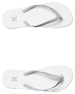 WHITE MENS FOOTWEAR HURLEY THONGS - MSA0000110WHT