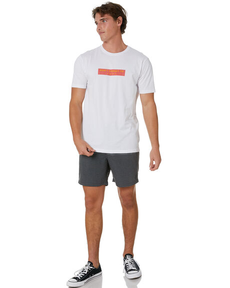 BLACK MENS CLOTHING STAY BOARDSHORTS - SBO-20403BLK