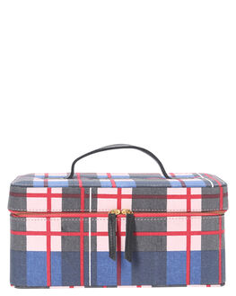 TARTAN DENIM WOMENS ACCESSORIES KIP AND CO BAGS + BACKPACKS - AW206011TDNM
