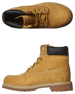 WHEAT KIDS BOYS TIMBERLAND BOOTS - 12909WHEA