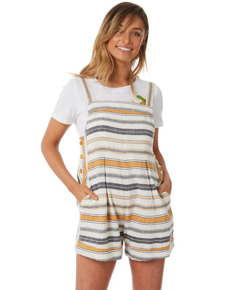 STRIPE WOMENS CLOTHING TIGERLILY PLAYSUITS + OVERALLS - T382428STR