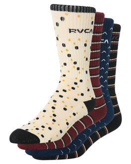 MULTI MENS CLOTHING RVCA SOCKS + UNDERWEAR - R183609AMULT