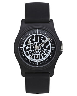 BLACK WHITE MENS ACCESSORIES RIP CURL WATCHES - A31640431