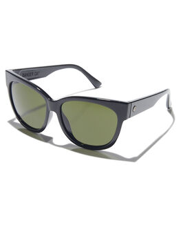 GLOSS BLACK GREY WOMENS ACCESSORIES ELECTRIC SUNGLASSES - EE14301620GLBKG