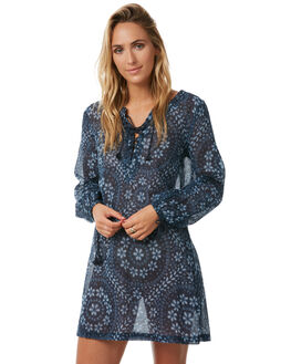 INDIGO WOMENS CLOTHING TIGERLILY FASHION TOPS - T372424IND