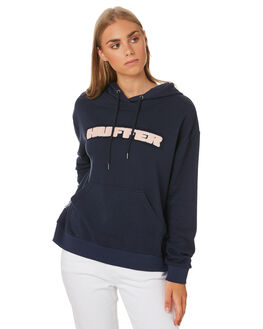 NAVY WOMENS CLOTHING HUFFER JUMPERS - WHD01S5301NAVY