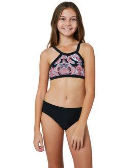 BLACK KIDS GIRLS SEAFOLLY SWIMWEAR - 27041BLK