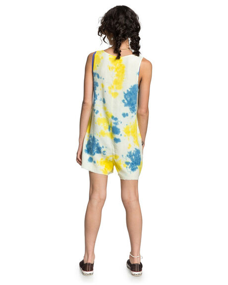 TIE DYE WASH WOMENS CLOTHING QUIKSILVER PLAYSUITS + OVERALLS - EQWWD03002-YGWW