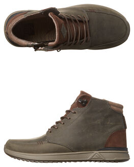 CHARCOAL BROWN MENS FOOTWEAR REEF BOOTS - A3624CAB