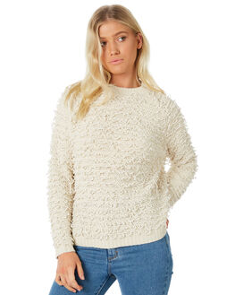 OATMEAL WOMENS CLOTHING ALL ABOUT EVE KNITS + CARDIGANS - 6413064CRM