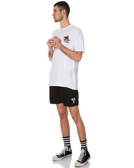 BLACK MENS CLOTHING STUSSY BOARDSHORTS - ST071606BLK
