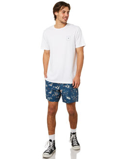 INDIGO MENS CLOTHING AFENDS BOARDSHORTS - M191353IND