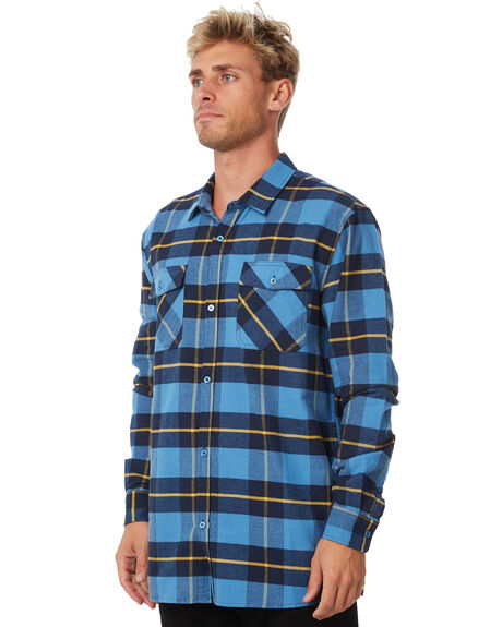 BLUE MENS CLOTHING SWELL SHIRTS - S5184173BLUE