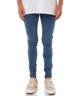 MID WILD BLUE MENS CLOTHING DR DENIM JEANS - 1610109-G57