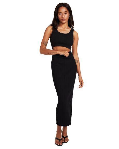 BLACK WOMENS CLOTHING SUBTITLED SKIRTS - 38875000022