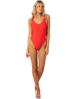RED WOMENS SWIMWEAR INSIGHT ONE PIECES - 5000002319RED